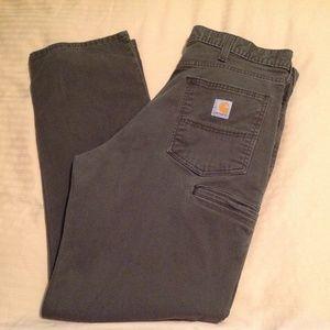 Carhartt 102517-909 36x32 Brown Jeans EUC